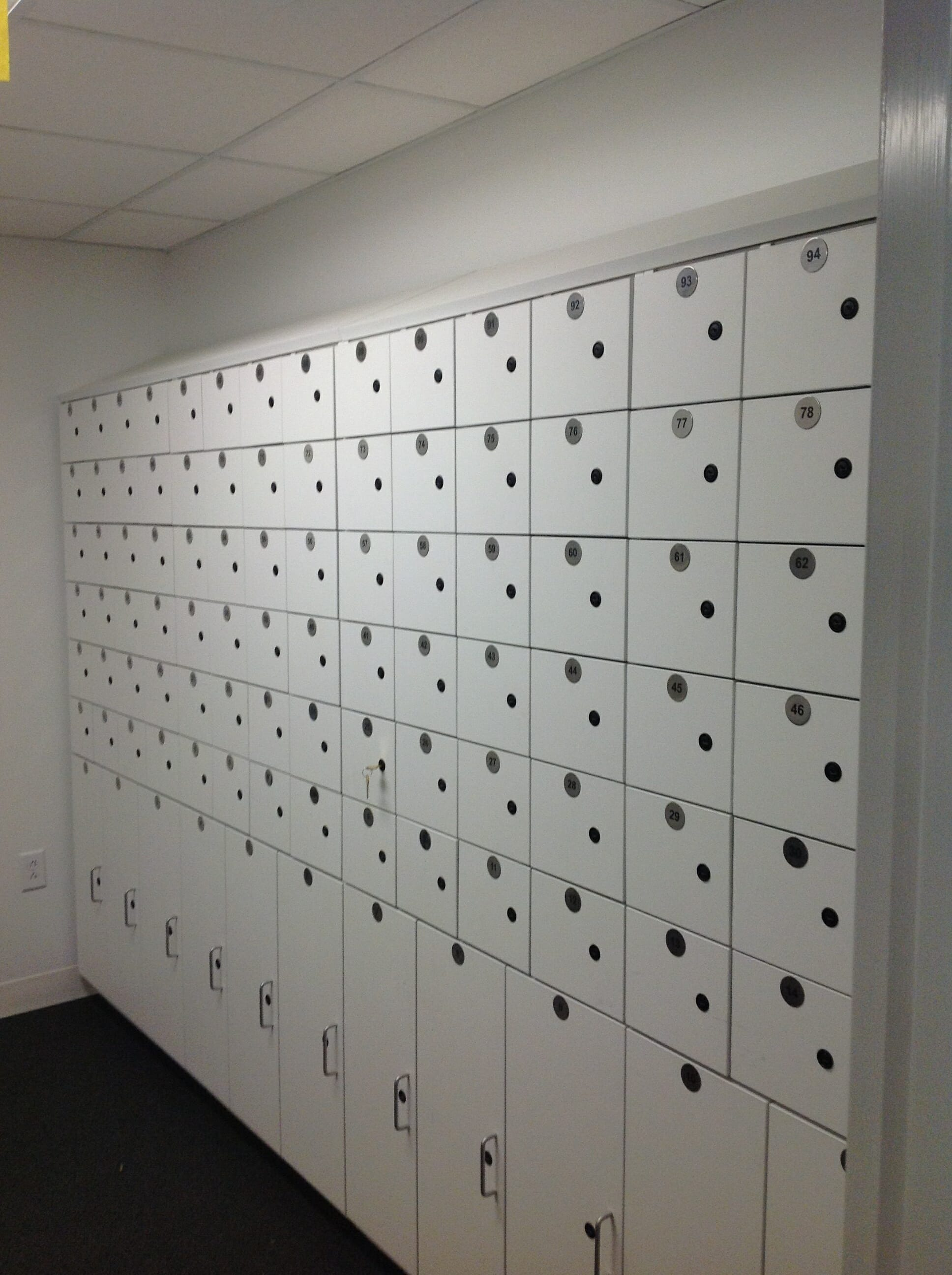 High Density Mobile Storage Commercial Shelving Systems Ny