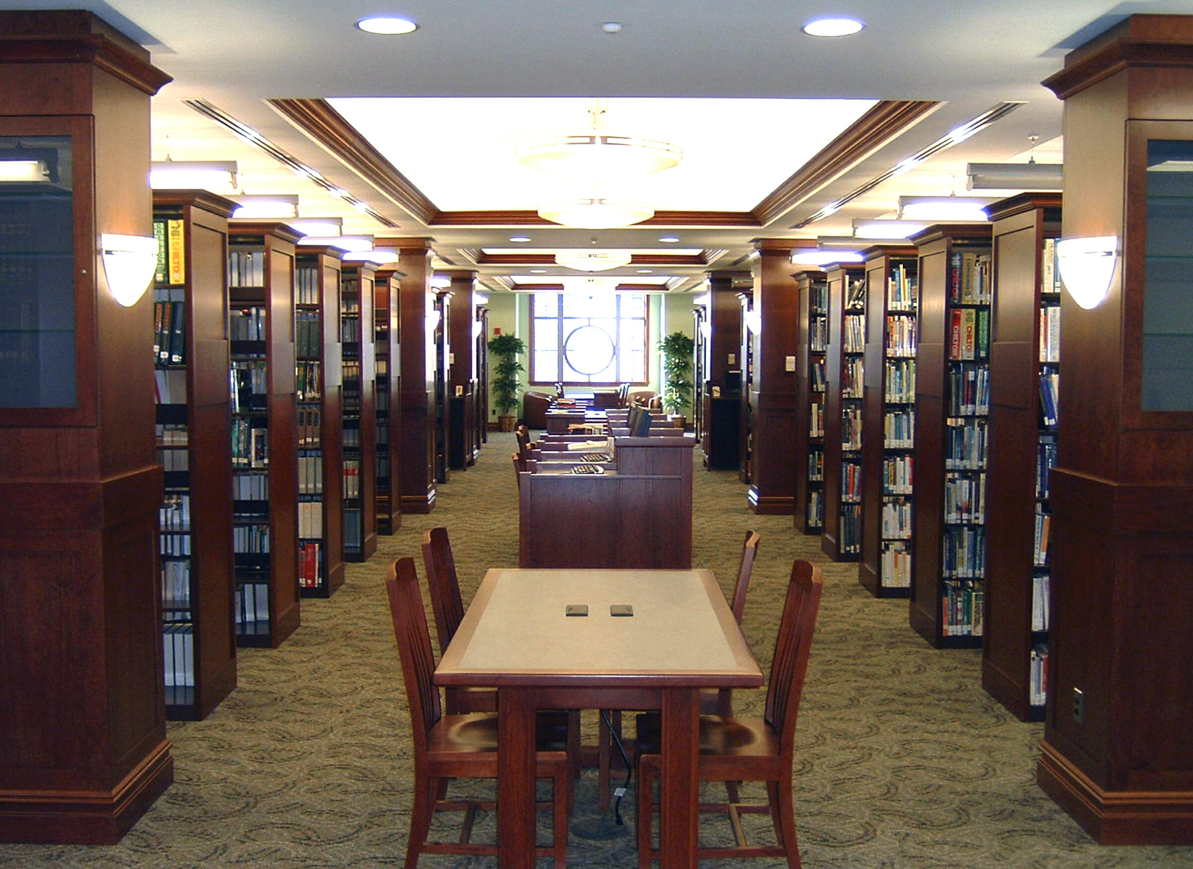 Library shelving systems library filing systems furniture for Home library furniture