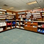 Pharmacy casework retail hospital secure drug storage