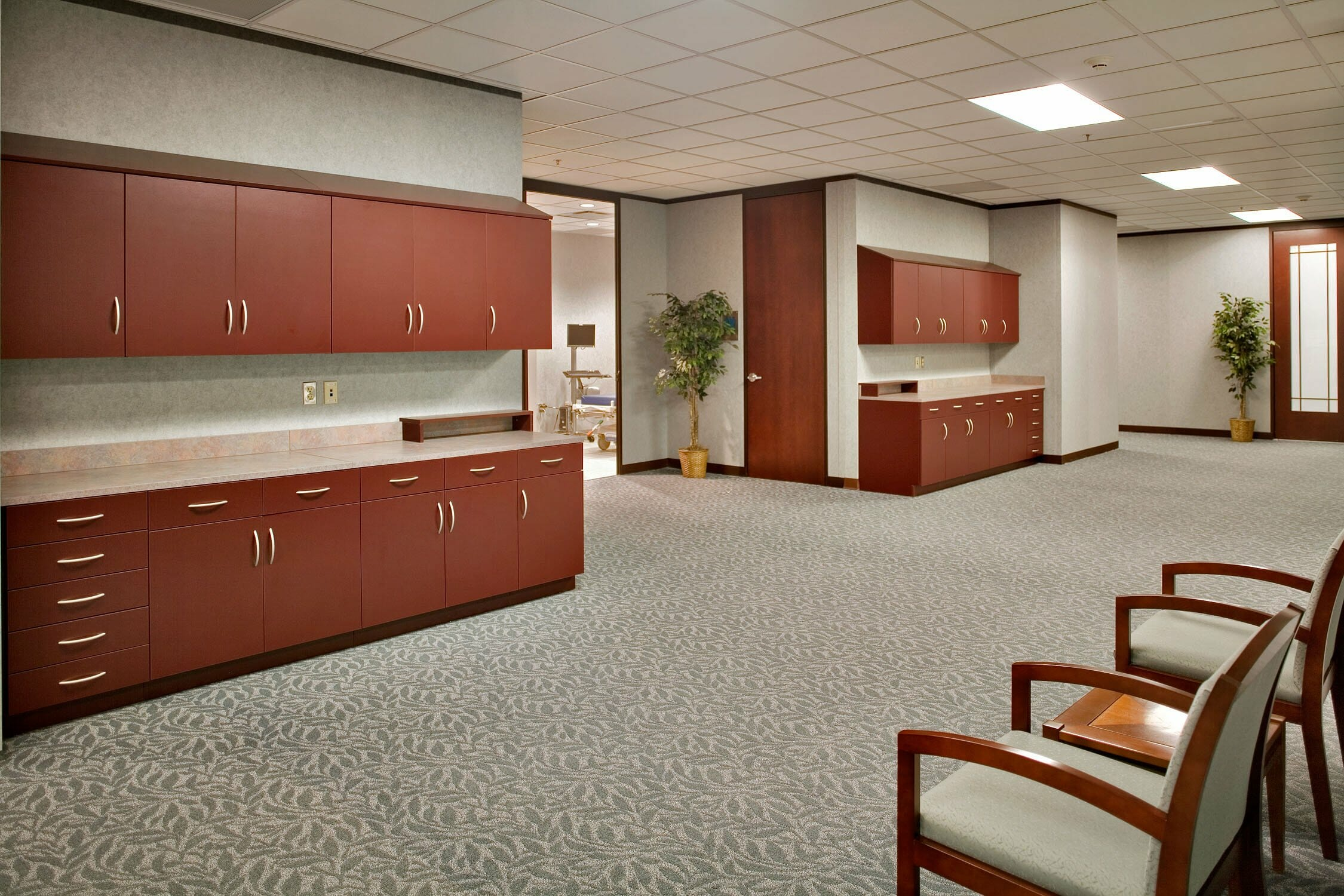 Office furniture reception area innovation for Modern office area