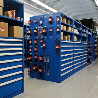 Industrial shelves storage racking office furniture new for Parts room organization
